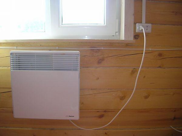 электрическое отопление дачного дома фото
