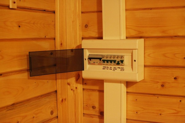 электропроводка в дачном доме фото
