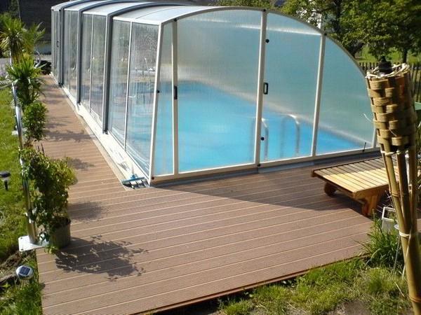какой бассейн лучше для дачи фото