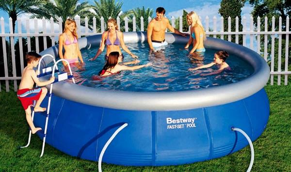 какой бассейн выбрать для дачи фото