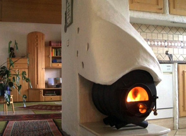 отопление дачного дома фото