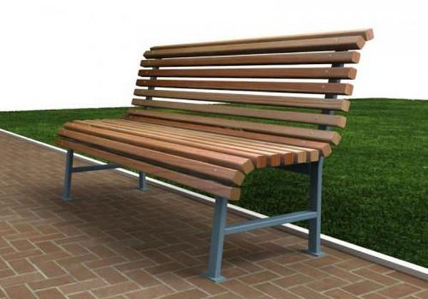 уличные скамейки для дачи своими руками фото