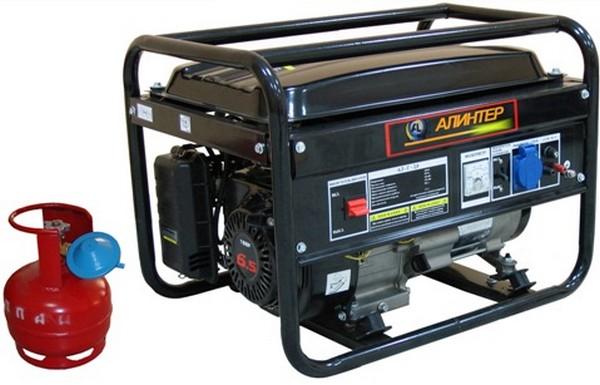 газовый генератор для дачи фото
