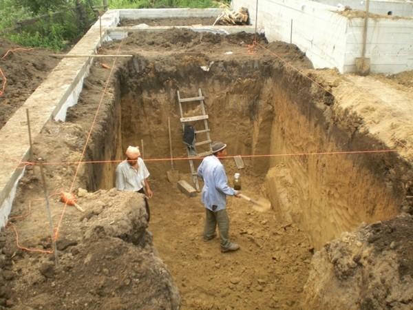 как выкопать погреб на даче фото