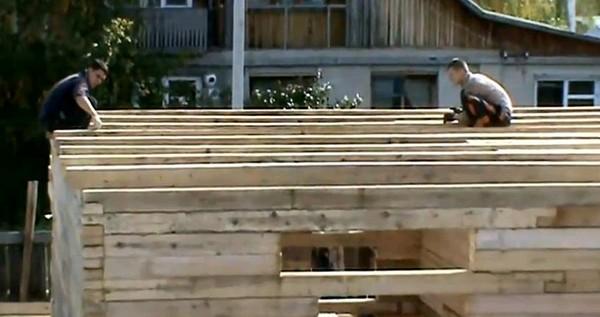 деревянные дачные дома из бруса фото