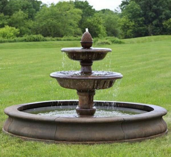 фонтан на даче своими руками фото