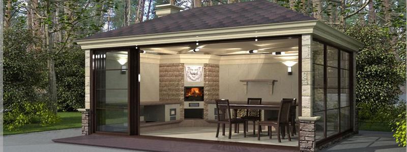 Кухня на даче: какую построить и как оформить