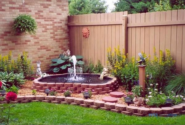 садовые фонтаны для дачи фото