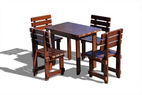деревянная мебель для дачи и сада фото