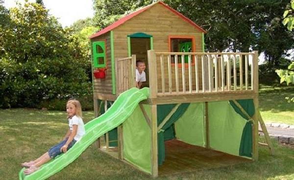 детский домик на даче фото