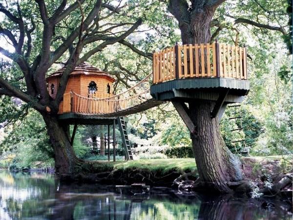 детский домик на дереве фото