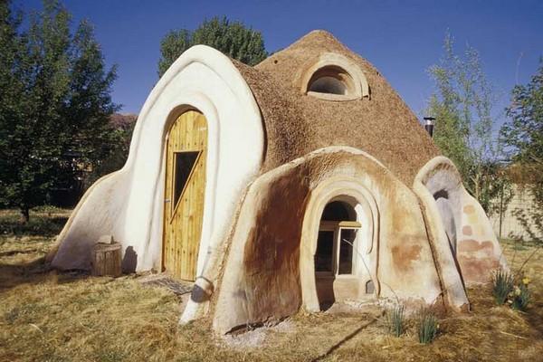 дом из соломы своими руками фото