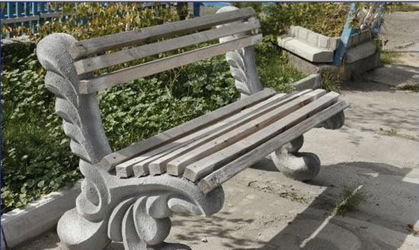 изготовление скамейки из дерева своими руками фото