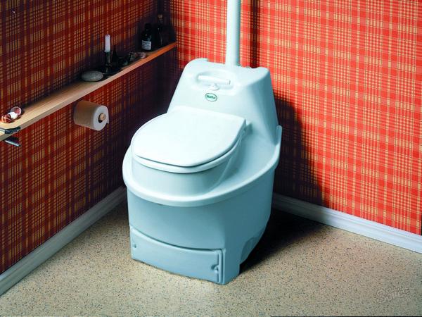 торфяной туалет для дачи компакт фото