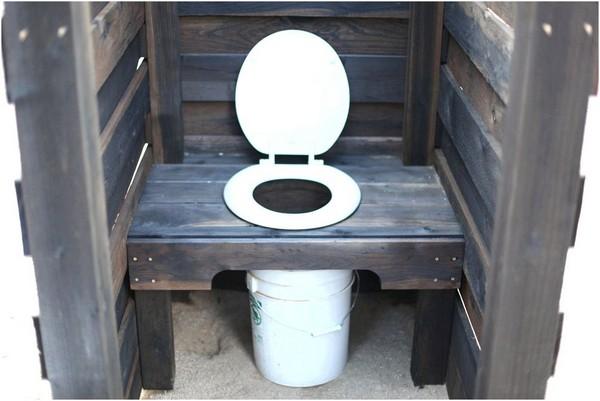 торфяной туалет для дачи своими руками фото