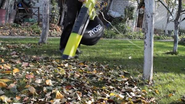 как сделать садовый пылесос