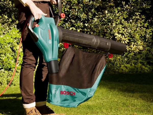 садовые пылесосы для уборки листьев электрические фото