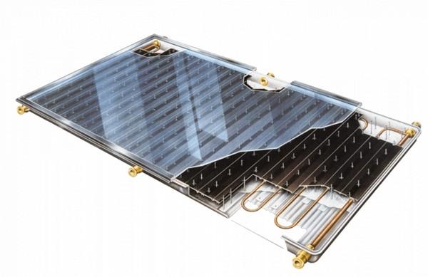 солнечный коллектор для дачи   фото