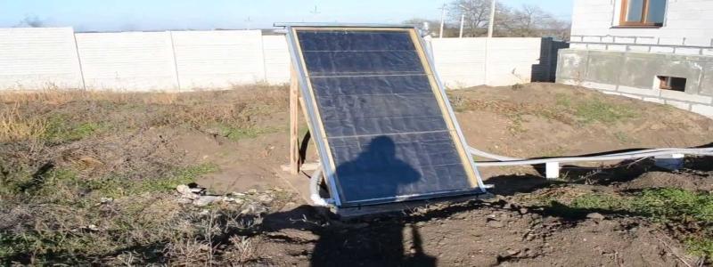 Солнечные коллекторы для нагрева воды: самостоятельное изготовление