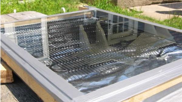 водонагреватель солнечный коллектор   фото
