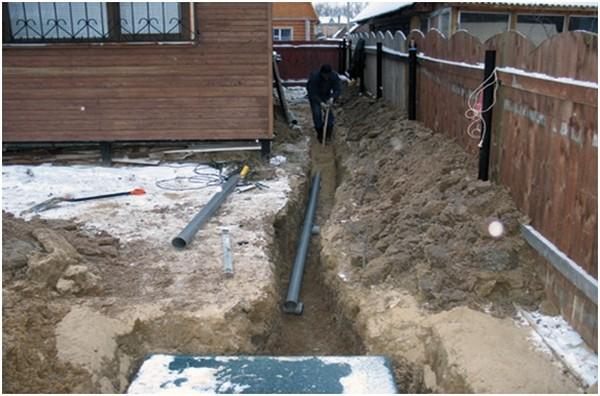водопровод на даче своими руками из колодца фото