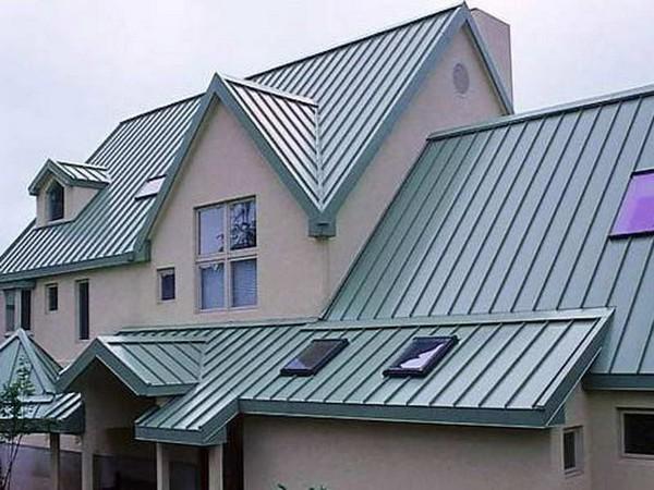 крыша из профнастила для дачи фото
