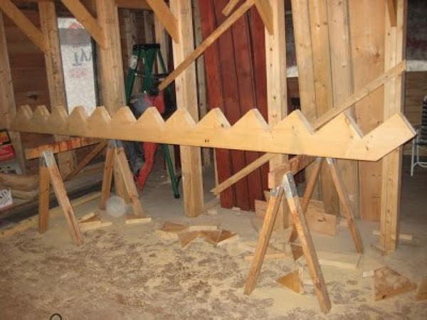 Как самому сделать лестницу деревянную