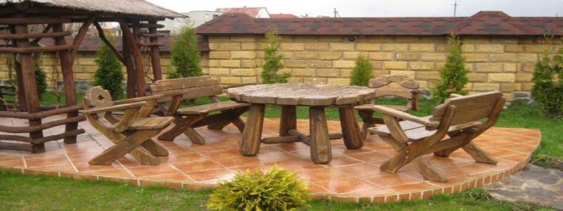 Садовая мебель из дерева: преимущества и самостоятельное изготовление