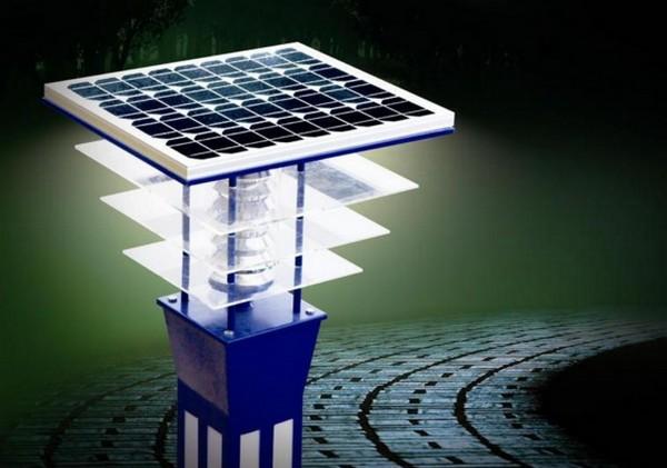 уличные светильники на солнечных батареях для дачи фото