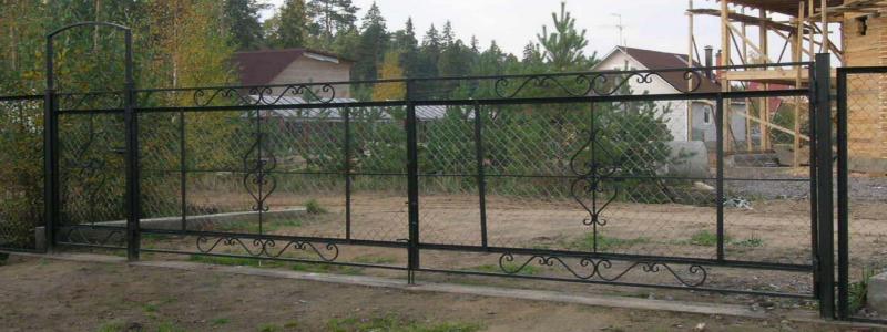 Ворота для дачи: какие сделать своими руками