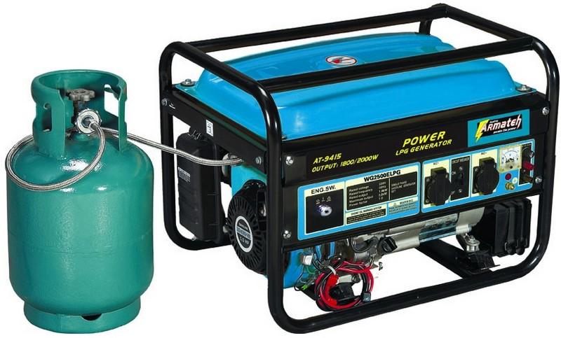 электрогенераторы газовые бытовые фото