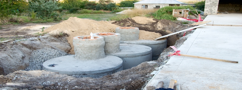 Септик из бетонных колец: особенности самостоятельного изготовления