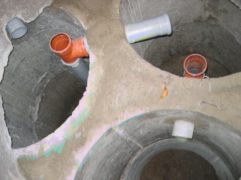 септик из бетонных колец своими руками фото