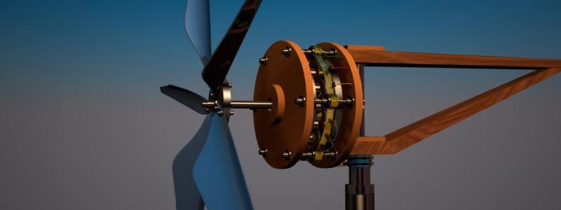 Ветряной генератор для