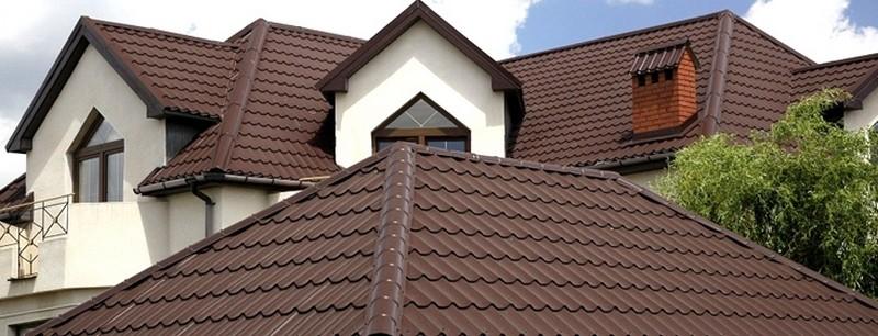 крыша из металлочерепицы своими руками пошагово фото
