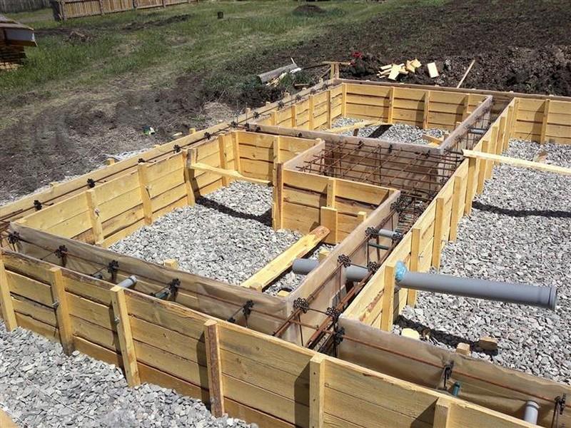 строительство фундамента под домфото