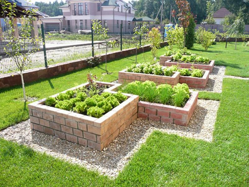 Украсить огород своими руками с фото фото 502