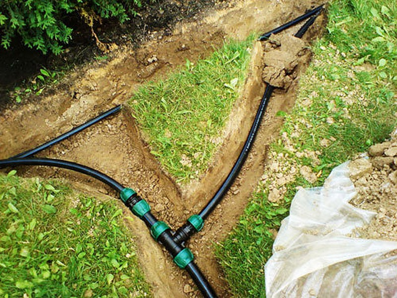 Системы полива газон своими руками