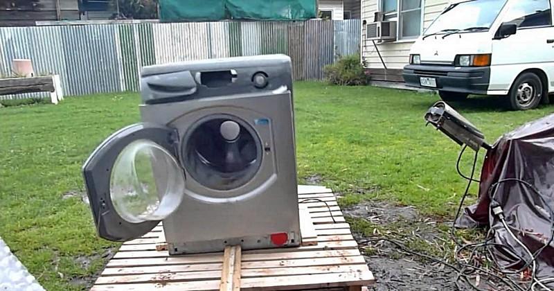 самодельная бетономешалка с двигателем от стиральной машины фото