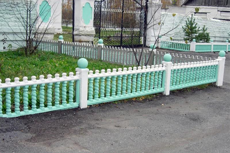 декоративный забор для палисадника фото