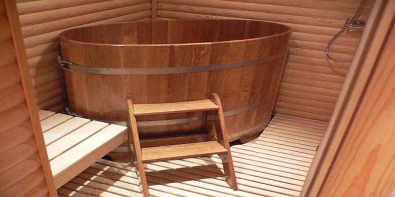 купель для бани деревянная фото