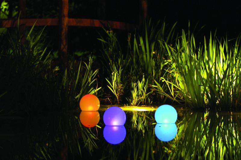 уличное садовое освещение фото