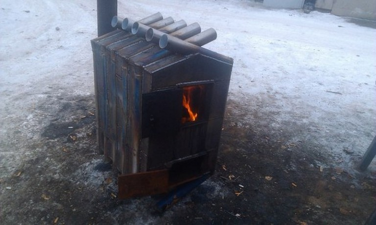 Печь дровяная своими руками 60