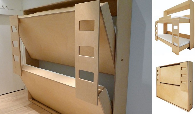 двухъярусная кровать трансформер своими руками фото