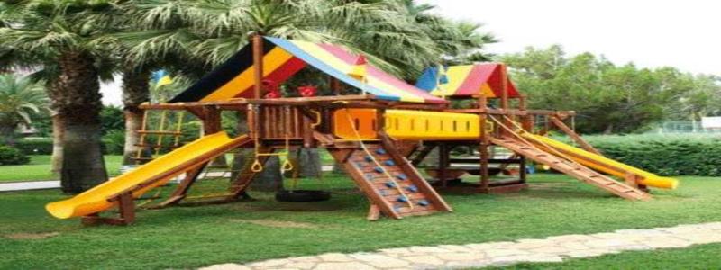 Детская площадка для дачи своими руками: как сделать