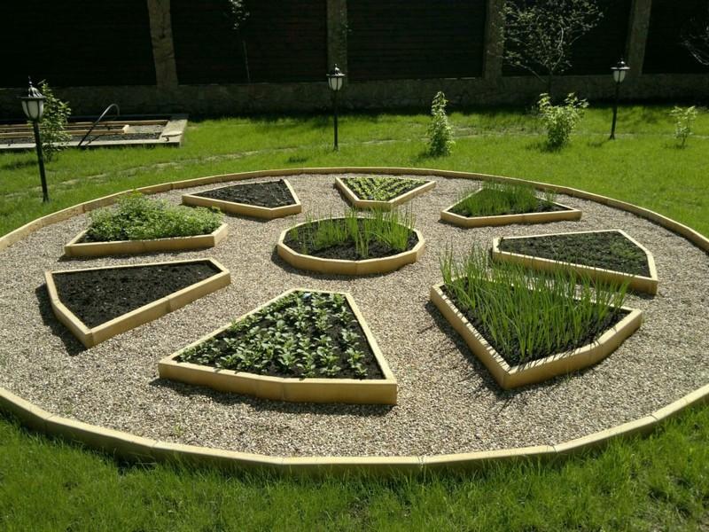 декоративный огород в ландшафтном дизайне фото
