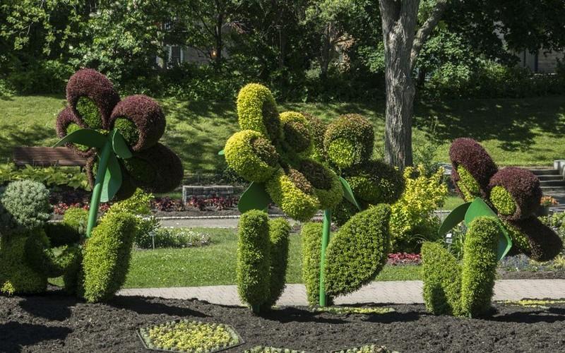 изготовление садовых скульптур фото
