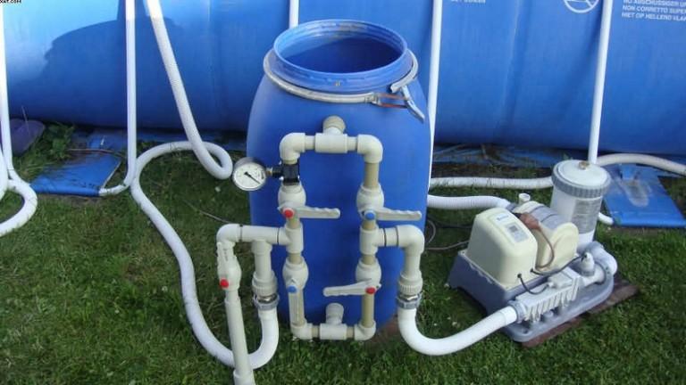 Плавающий фильтр для бассейна своими руками 66