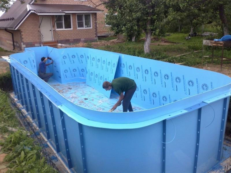 пруд на даче для разведения рыбы фото