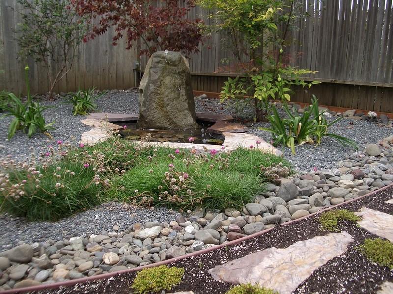 как сделать сад камней фото